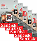 Lot of 5 SanDisk Ultra 8GB SDHC SD Class 10 30MB/s Flash Memory Camera Card New