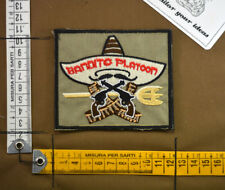 Patch ricamata Act of Valor Bandito Platoon nsw Navy Seal aor velcro airsoft