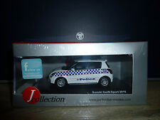 SUZUKI SWIFT AUSTRALIA MELBOURNE POLICE CAR 2010 -  J COLLECTION NEUVE 1/43°