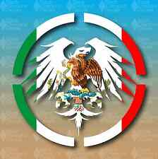 """Never Summer Mexico Country Flag Snowboard 5"""" Custom Vinyl Decal Sticker Pride"""