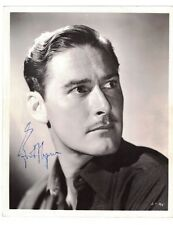 Errol Flynn SIGNED Headshot DATED signed at Romanoffs on March 6th 1948