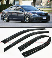 MUGEN 3D STYLE SMOKED WINDOW VISOR VENT SHADE FOR 2007-2011 TOYOTA CAMRY LE SE