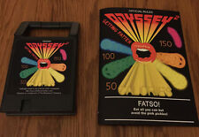 FATSO Odyssey2 homebrew videogame cartridge storage box Videopac Magnavox manual