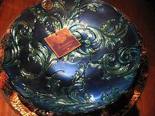 Arda Glassware 'Vanessa' Platter, Antique Light & Dark Blue, Turkish Glass