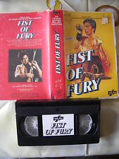 Fist Of Fury de Hiussen Mi, VHS FIP, Action/Kung-Fu, RARE!!