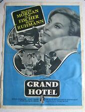 movie poster  Grand Hotel / Menschen im Hotel 1959/1960