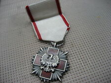 Poland Medal Red Cross PCK Merit Cross 2nd class