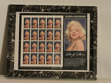 1995 framed Marilyn Monroe Stamps set (sheet of 20 32 cent usa stamps