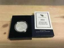 U.S. 2011-W AMERICAN EAGLE ONE OZ. SILVER DOLLAR GEM UNCIRCULATED
