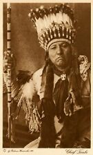 THE VANISHING RACE - CHIEF TIMBO or HAIRLESS - COMMANCHE - CHIEF - VINTAGE