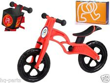 "Pop Bike Children Kids Learning Balance Bike 12"" EN71 & CE Certified Safety RED"