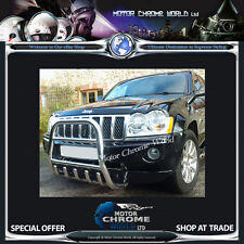 JEEP GRAND CHEROKEE BULL BAR CHROME AXLE NUDGE A-BAR 60mm 2005-2010 ON OFFER NEW