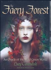 NEW The Faery Forest Oracle Cards Deck Lucy Cavendish Maxine Gadd