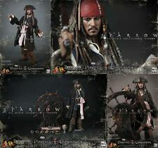 Hottoys: Pirates of the Caribbean: JACK SPARROW DX06 figure - RARE (loki/monger)