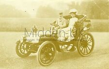 RA925 Early RP POSTCARD - Vintage Petrol-Electric Krieger Car
