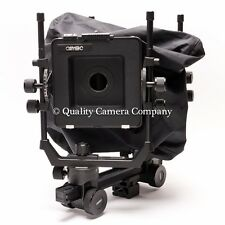 Cambo SC2 4x5 View Camera, Bag Bellows & Recessed Lensboard Package 100%