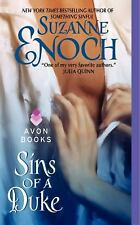 Sins of a Duke, Suzanne Enoch paperback Very Good