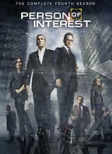 #9 PERSON OF INTEREST Fourth Season Brand New DVD Set FREE SHIPPING