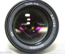 TAIR-11A 135mm f2.8 M42 Lens Russian Soviet  20 blades telephoto EXC!