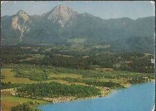 Alte Postkarte - Campingstrand am Faakersee