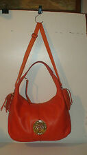 roots  MULBERRY LONDON ALL LEATHER DARIA HOBO PURSE TOTE  $950 RETAIL