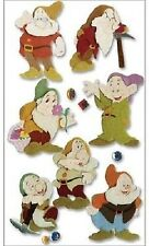 Jolee's Disney SEVEN 7 DWARFS Stickers SNOW WHITE
