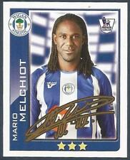 TOPPS 2010 PREMIER LEAGUE - #426-WIGAN ATHLETIC & HOLLAND-MARIO MELCHIOT