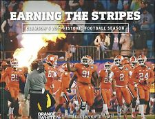 EARNING THE STRIPES-HARDCOVER BOOK OF CLEMSON'S HISTORIC 2015 FOOTBALL SEASON