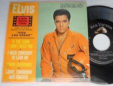 """ELVIS PRESLEY Viva Las Vegas 4 song 7"""" 45 Picture sleeve EP RCA EPA-4382 e691"""