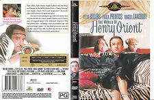 The World of Henry Orient-1964-Peter Sellers-Movie-DVD