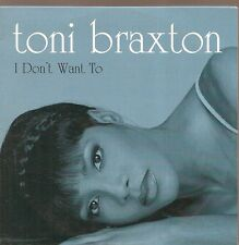 CD SINGLE 2 TITRES--TONI BRAXTON--I DON'T WANT TO--1997