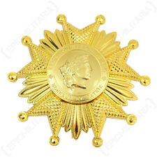 French LEGION OF HONOR Medal - GOLD - Award - Grand Officer - Costume Insignia