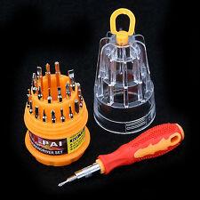 31pcs de precisión Torx Destornillador Para Móviles Ordenadores PHILIPS HEX