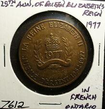Ontario Queen Elizabeth 25th Anniversary Medal