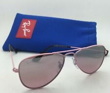 Junior Collection Kids Ray-Ban Sunglasses RJ 9506-S 211/7E Pink w/ Silver Mirror