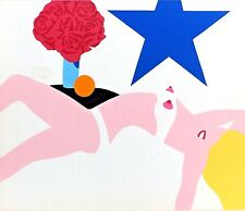 Original Silkscreen from Banner by TOM WESSELMANN 1968  The Great American Nude