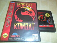 Mortal Kombat (Sega Genesis, 1993) *In Case*