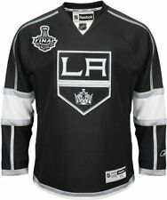 LA Kings Richards 2014 Stanley Cup Finals Game Home Jersey NHL Reebok Sz XL C63