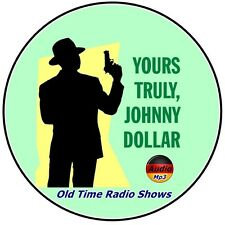 Yours Truly, Johnny Dollar - 745 Old Time Radio Shows mp3 - DVD on 2 CD's