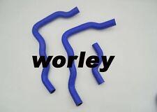 For HONDA  VFR400 NC24 Silicone radiator hose blue