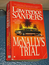McNally's Trial by Lawrence Sanders *FREE SHIPPING* * 042514755X