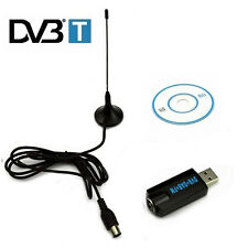 RTL2832U & R820T DVB-T RTL-SDR+DAB+FM USB 2.0 Digital TV Receiver Stick Tuner CD