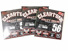 Cleartone Guitar Strings Electric 3 For Price of 2 Pack Monster Drop D  11-56