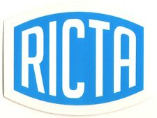 Ricta Wheels Skateboard Sticker - Blue/White skate snow surf board ipad guitar