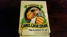 "Camel Cigarettes Camel Joe Cash Store Window Static Cling, 9""x12"" CAMEL!"