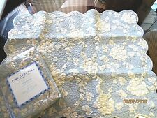 (2) NEW, PINE CONE HILL, 100% COTTON, MADELINE, EURO PILLOW SHAMS