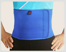 New Adjustable Slimming Exercise Belt Men Women Shed Water Weight Back Brace