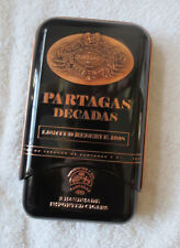 PARTAGAS DECADAS RESERVE NO. 11  - 2 TIN CARRY CASES - NICE!!  NEW!
