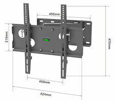 TV Wall mount bracket cantilever Tilt Swivel 400x400mm vesa  22 32 40 42 3D LED