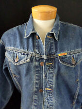 EDWIN vintage made Japan whisker hige denim jean jacket MEDIUM